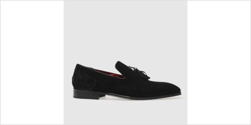 Jeffery West Black Soprano Slip Mens Shoes from Schuh