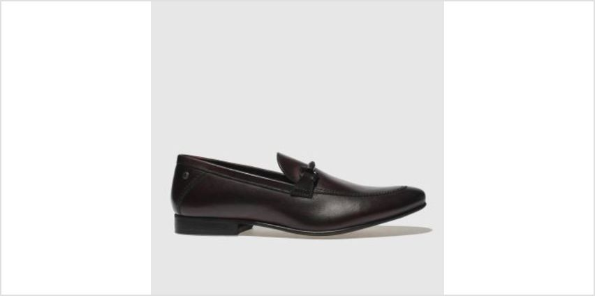 Base London Burgundy Soprano Mens Shoes from Schuh