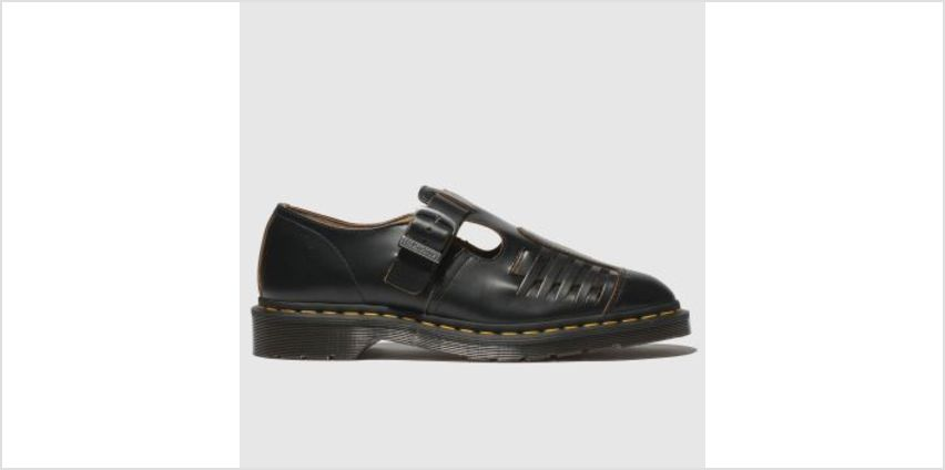 Dr Martens Black Mica Mens Shoes from Schuh