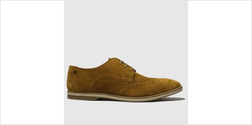 Base London Tan Crosby Mens Shoes from Schuh