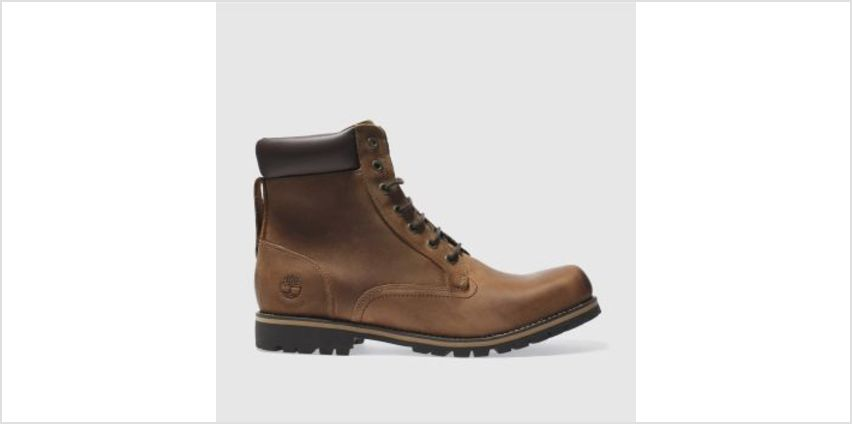 Timberland Dark Brown Ek Rugged 6 Inch Mens Boots from Schuh