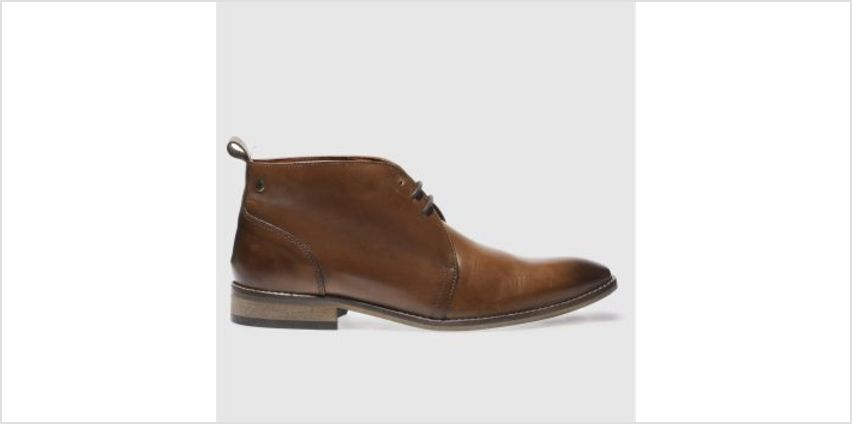 Base London Tan County Chukka Mens Boots from Schuh