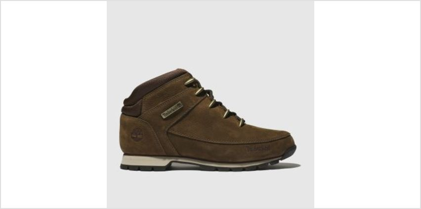 Timberland Brown Euro Sprint Hiker Mens Boots from Schuh
