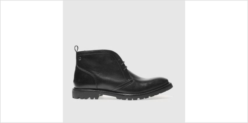 Base London Black Risk Mens Boots from Schuh