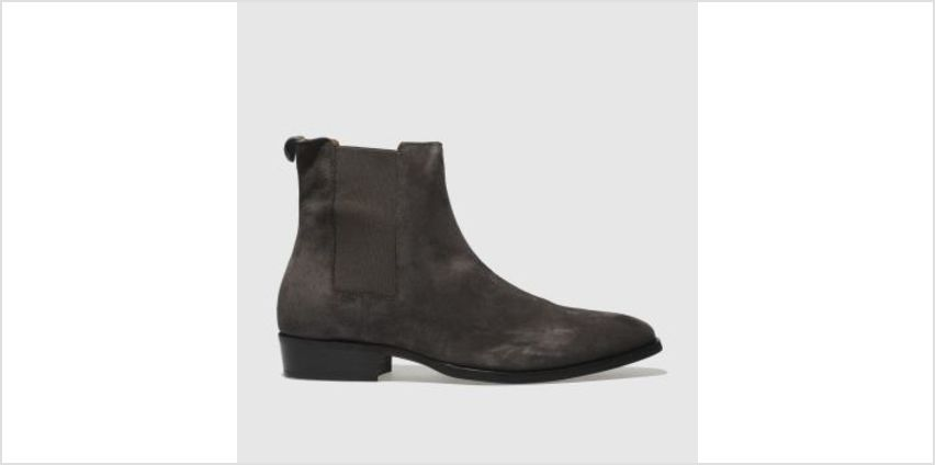 Schuh Grey Pete Chelsea Mens Boots from Schuh