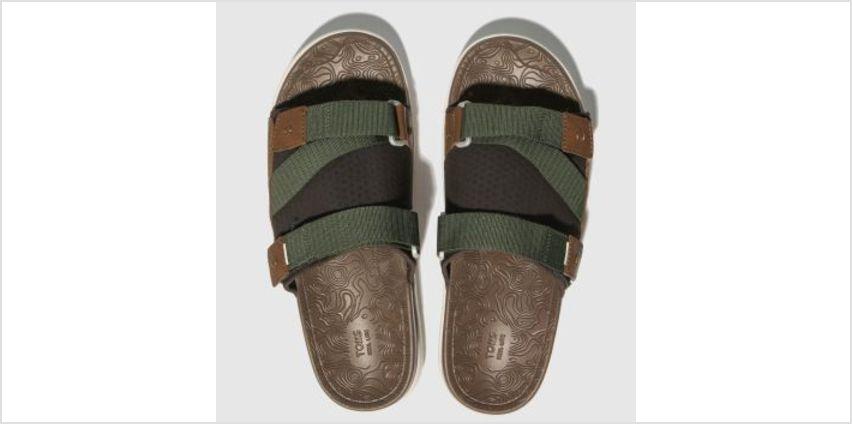 Toms Khaki Trvl Lite Mens Sandals from Schuh