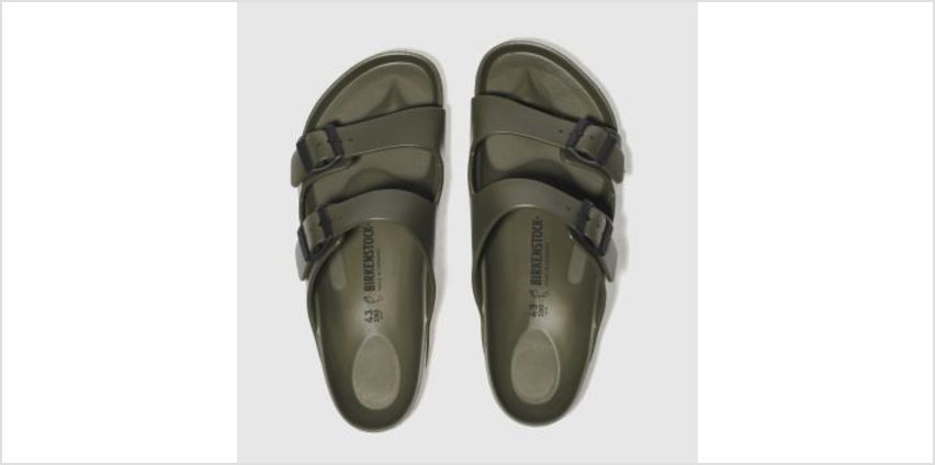 Birkenstock Khaki Arizona Eva Mens Sandals from Schuh