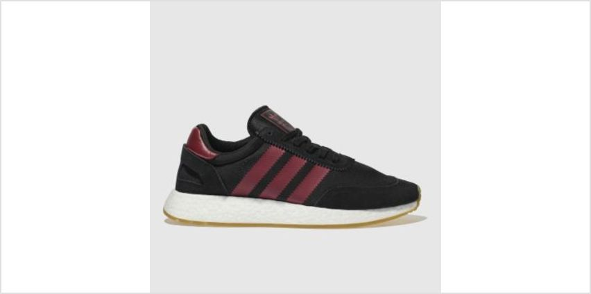 Adidas Black & Red I-5923 Mens Trainers from Schuh