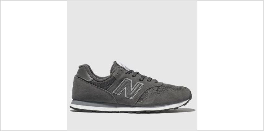 New Balance Dark Grey 373 Mens Trainers from Schuh
