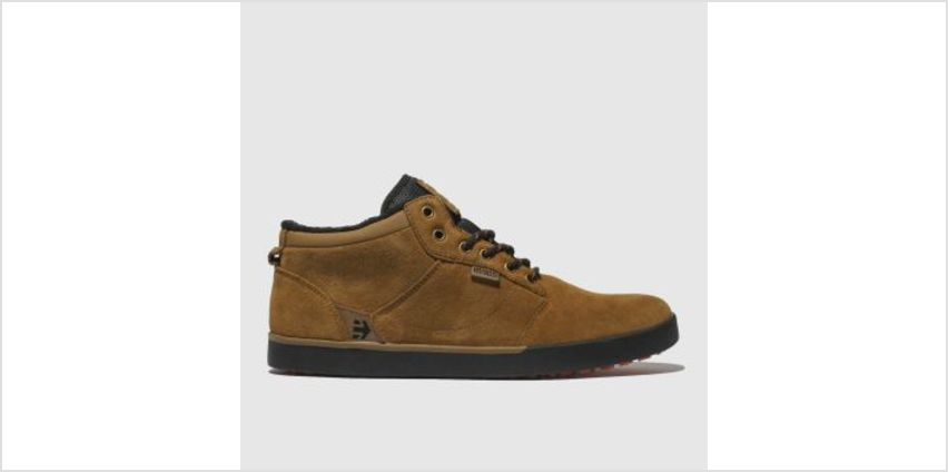Etnies Tan Jefferson Mid Mtv Mens Trainers from Schuh