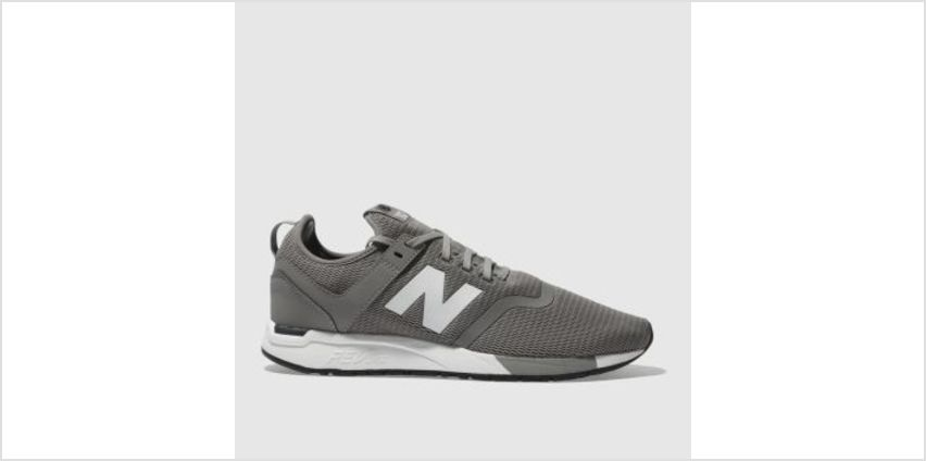 New Balance Grey 247 Mens Trainers from Schuh