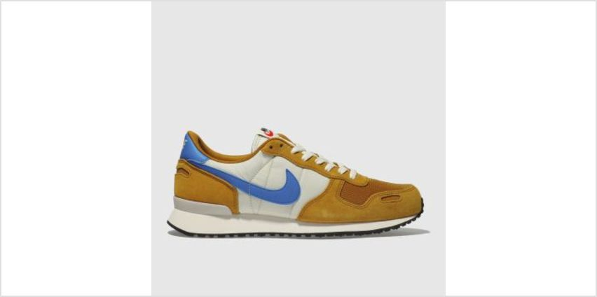 Nike Tan & Blue Air Vortex Mens Trainers from Schuh