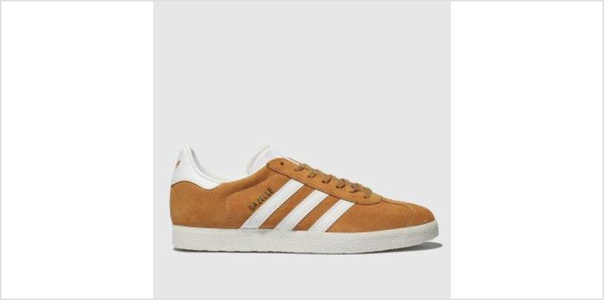 Adidas Orange Gazelle Mens Trainers from Schuh