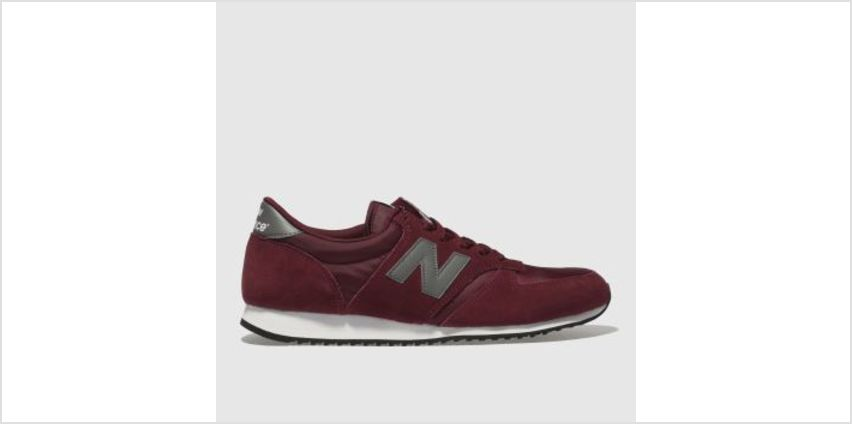 New Balance Burgundy 420 Mens Trainers from Schuh