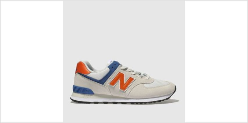 New Balance Light Grey 574 Mens Trainers from Schuh