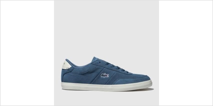 Lacoste Blue Court-Master Mens Trainers from Schuh