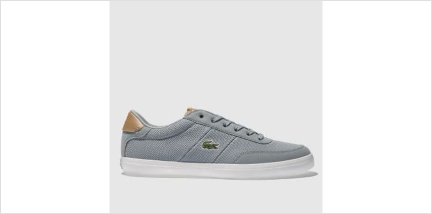 Lacoste Pale Blue Court-Master Mens Trainers from Schuh