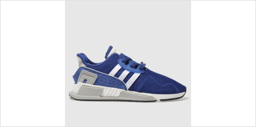 Adidas Blue Eqt Cushion Adv Mens Trainers from Schuh