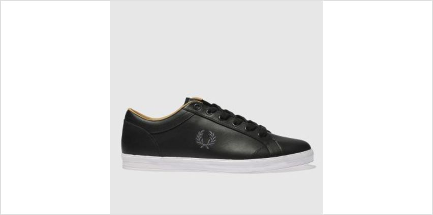 Fred Perry Black Baseline Mens Trainers from Schuh