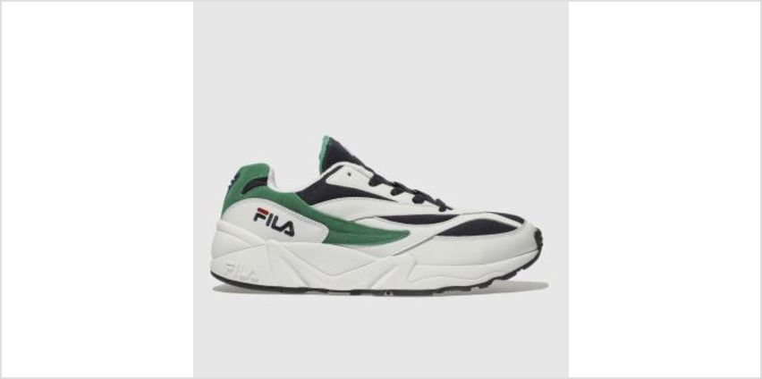 Fila White & Navy Venom Low Mens Trainers from Schuh