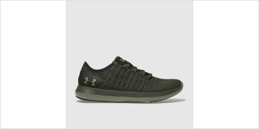 Under Armour Khaki Slingride 2 Mens Trainers from Schuh
