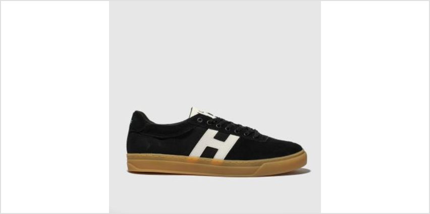 Huf Black & White Soto Mens Trainers from Schuh
