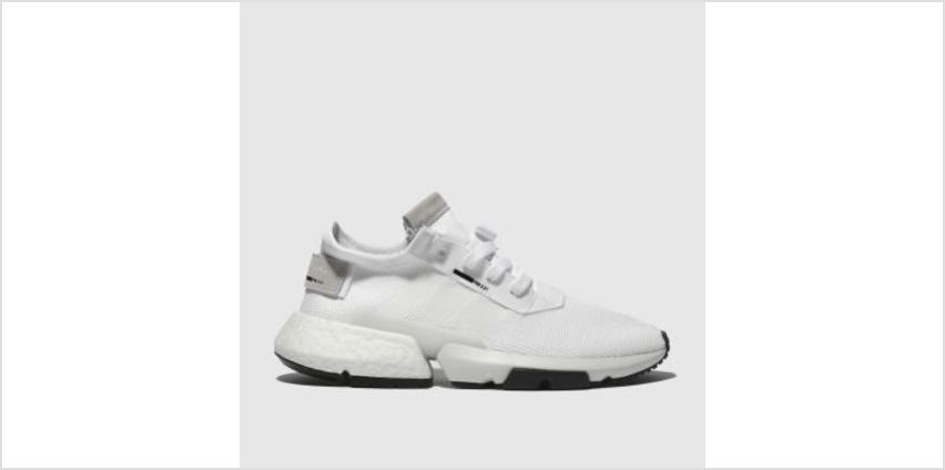 Adidas White Pod S3.1 Mens Trainers from Schuh