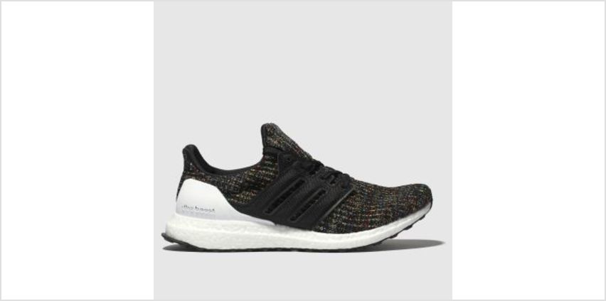 Adidas Black & White Ultraboost Mens Trainers from Schuh