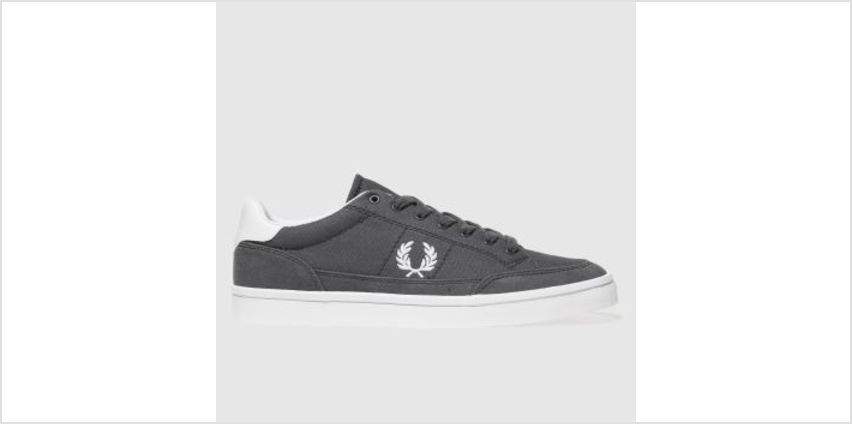 Fred Perry Dark Grey Deuce Mens Trainers from Schuh
