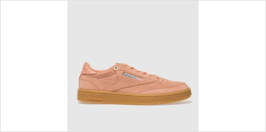 Reebok Pink Club C 85 Mens Trainers from Schuh