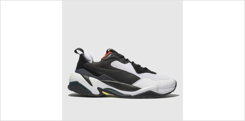 Puma White & Red Thunder Spectra Mens Trainers from Schuh