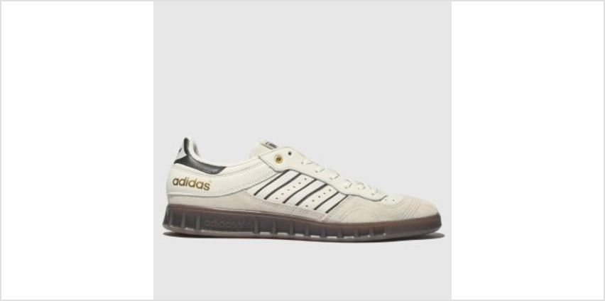Adidas White & grey Handball Top Mens Trainers from Schuh