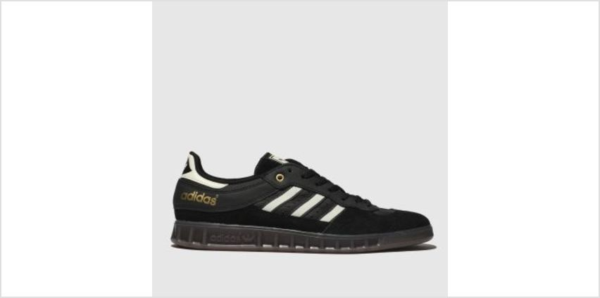 Adidas Black & White Handball Top Mens Trainers from Schuh