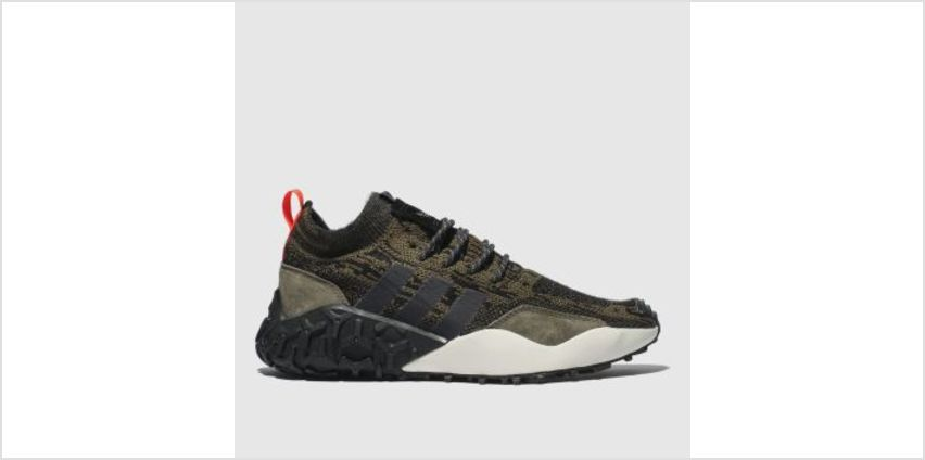 Adidas Brown F/2 Tr Primeknit Mens Trainers from Schuh