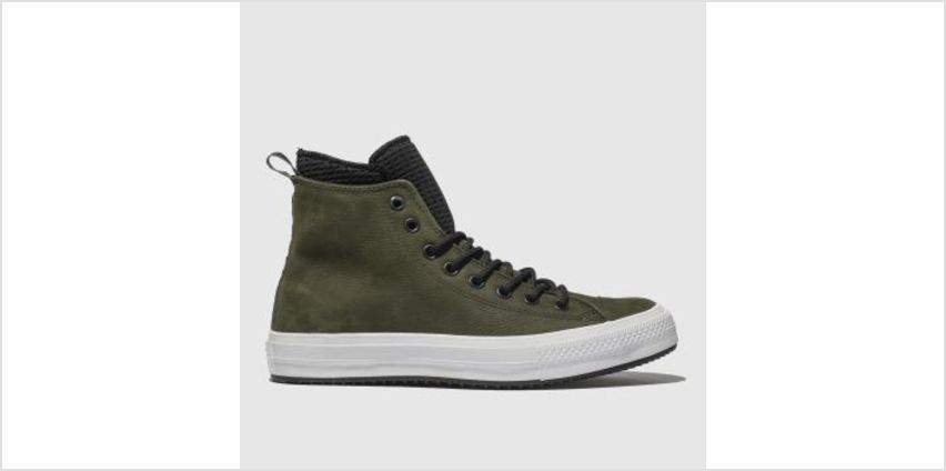 Converse Khaki All Star Utility Draft Boot Hi Mens Trainers from Schuh