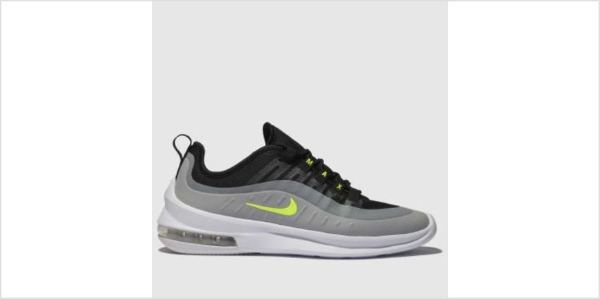 Nike Black & Grey Air Max Axis Mens Trainers from Schuh