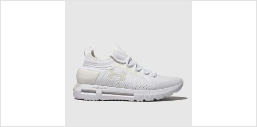 Under Armour White Hovr Phantom Se Mens Trainers from Schuh