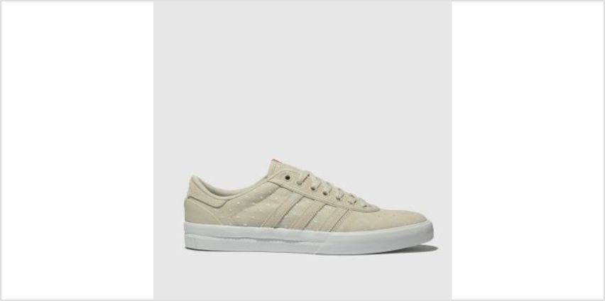 Adidas Skateboarding Natural Lucas Premiere Mens Trainers from Schuh