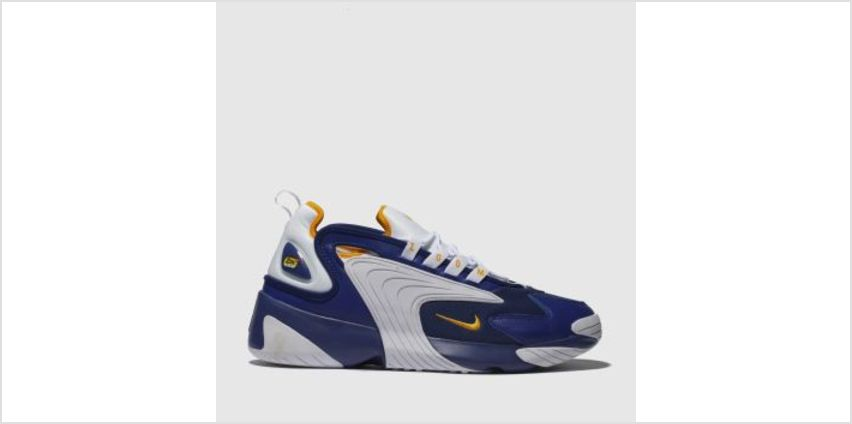 Nike White & Blue Zoom 2K Mens Trainers from Schuh