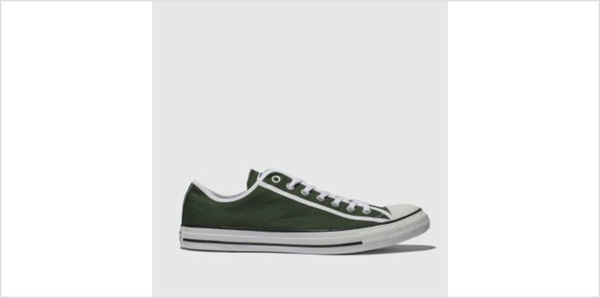 Converse Green Chuck Taylor All Star Ox Mens Trainers from Schuh