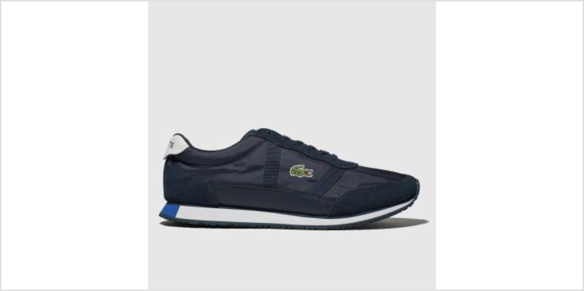 Lacoste Navy & White Partner Mens Trainers from Schuh