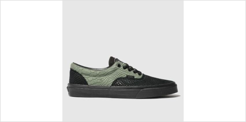Vans Black & Green Hp Slytherin Era Mens Trainers from Schuh