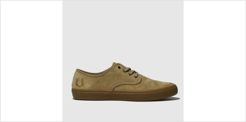 Fred Perry Tan Merton Mens Trainers from Schuh