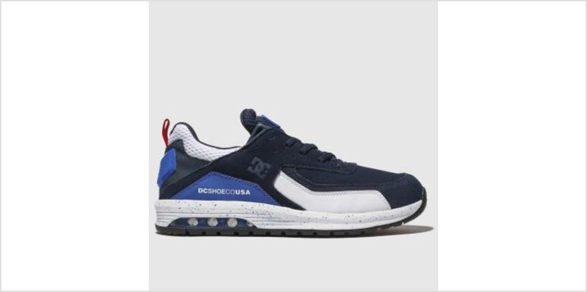 Dc Shoes Navy & White Vandium Se Mens Trainers from Schuh