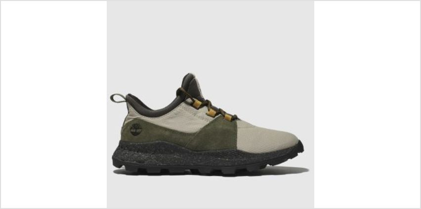 Timberland Green & Stone Brooklyn Oxford Mens Trainers from Schuh