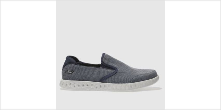Skechers Navy On The Go Glide Mens Trainers from Schuh