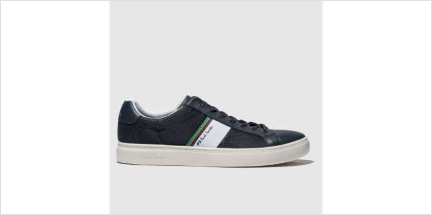 Paul Smith Shoe Ps Navy Rex Mens Trainers from Schuh