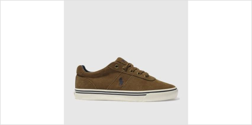 Polo Ralph Lauren Tan Hanford Mens Trainers from Schuh