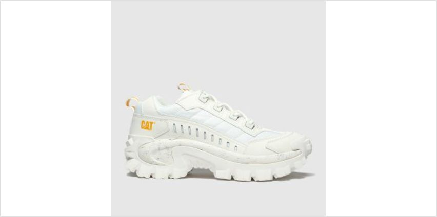 Cat-Footwear White Intruder 1 Mens Trainers from Schuh
