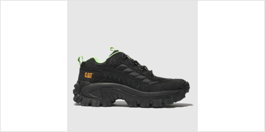 Cat-Footwear Black Intruder 1 Mens Trainers from Schuh